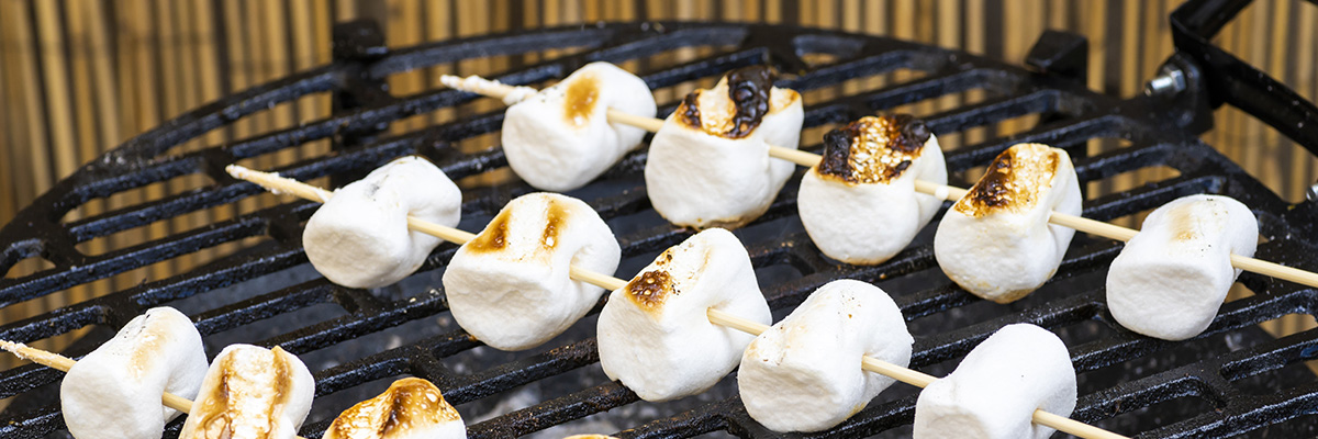 grillatut vaahtokarkit