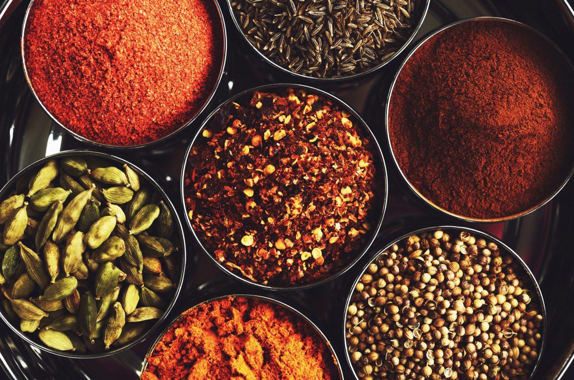 mausteet ruoanlaitossa